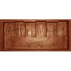"""Форма полиуретановая для изготовления бордюра для декоративной дорожки """"Бордюрчик дерево"""""""