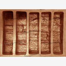 """Гибкая полиуретановая форма """"Вкладыши"""" из набора для изготовления декоративного забора """"Танвальд""""."""