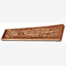 """Гибкая полиуретановая форма """"Панель"""" из набора для изготовления декоративного забора """"Танвальд""""."""