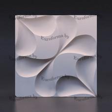 """Пластиковая форма  для изготовления 3D панелей """"Серпа""""."""