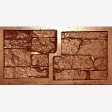 """Гибкая полиуретановая форма  для изготовления угловых элементов декоративного камня """"Гиперборея""""."""